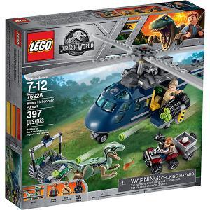 Конструктор  Jurassic World 75928: Погоня за Блю на вертолёте LEGO