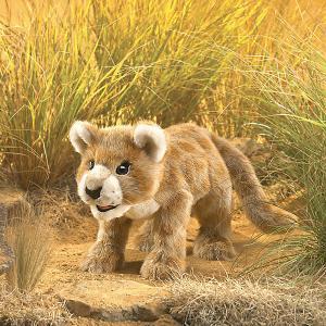 Мягкая игрушка на руку  Африканский львенок, 46 см Folkmanis