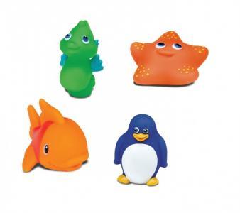 Игрушки для ванны Морские животные 4 шт. Munchkin