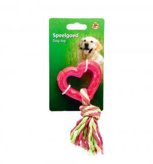 Игрушка для собак  Любящее сердце, цвет: розовый, 8см Beeztees