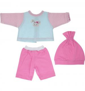 Одежда для кукол  Зайка кофточка брючки и шапочка 38-43 см Mary Poppins