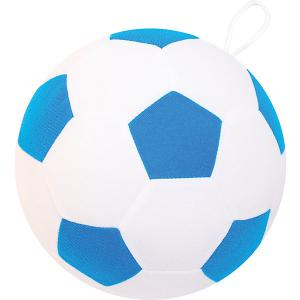 Игрушка  Футбольный мяч, сине-белый Мякиши