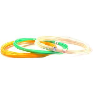 Комплект пластика  PLA для 3Д ручек, 6 цветов в органайзере Unid. Цвет: разноцветный
