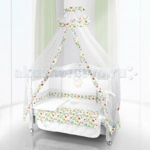 Комплект в кроватку  Unico Flower Campo 125х65 (6 предметов) Beatrice Bambini