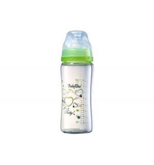 Бутылочка  с широким горлышком стекло рождения, 240 мл Babyono