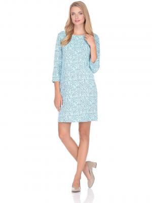 Платье , цвет: бирюзовый/серый Hunny Mammy