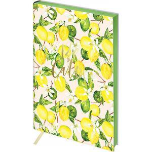 Записная книжка  Vision Lemon А5, 80 листов Greenwich Line. Цвет: разноцветный