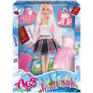 Кукла  Путешественница Ася, 28 см Toys Lab. Цвет: розовый