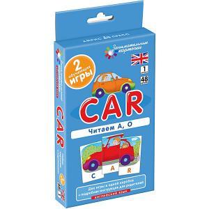 Занимательные карточки Английский язык: Машина (Car) Level 1, Клементьева Т. АЙРИС-пресс