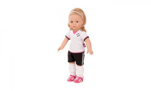 Кукла Джессика блондинка в футбольной форме 46 см Gotz