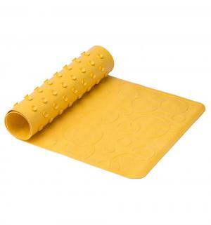 Коврик  для ванны, цвет: желтый Roxy-kids