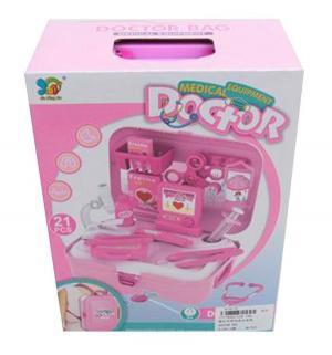 Игровой набор  Рюкзачок Доктора (21 предмет), цвет: розовый Наша Игрушка