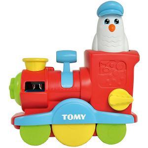 Игрушка для ванны Tomy Веселый паровозик с мыльными пузырями