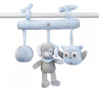 Подвесная игрушка  Soft toy Sam & Toby Овечка и Собачка на завязках Nattou