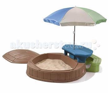 Песочница со столиком Step 2