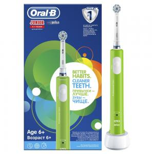 Зубная щетка  Pro 400 Junior Sensi Ultrathin электрическая D16.513.1 тип 4729, с 6 лет Oral-B