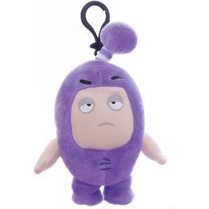 Мягкая игрушка-брелок  Джефф, 12 см Oddbods. Цвет: фиолетовый