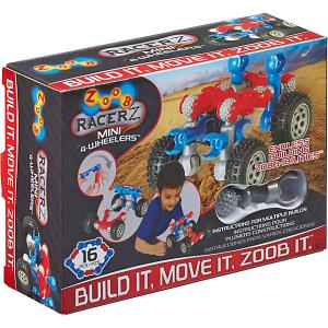 Конструктор ZOOB Racer-Z Mini 4-Wheeler, 12 деталей