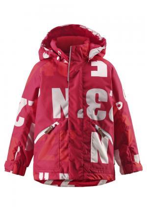 Куртка  Nappaa, цвет: красный Reima