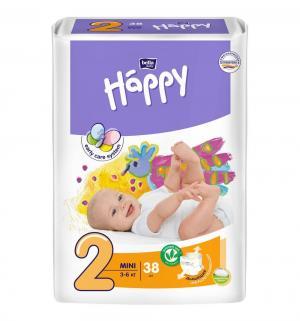 Подгузники  Baby Happy Mini 2 (3-6 кг) 38 шт. Bella