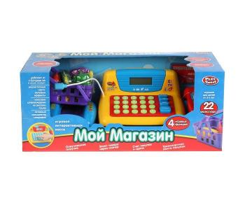 Кассовый аппарат Мой магазин (22 предмета) Play Smart