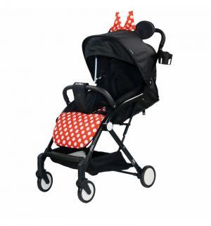 Прогулочная коляска  Mary, цвет: черный/бант Indigo