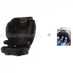 Автокресло  Monza Nova EVO SF и защита сиденья из ткани АвтоБра Recaro