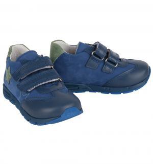 Полуботинки , цвет: синий Dandino