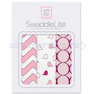 Пеленка  SwaddleLite Chic комплект 3 шт. SwaddleDesigns