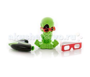 Интерактивная игрушка  Тир проекционный 3D Джонни-Черепок с 2-мя бластерами Johnny the Skull
