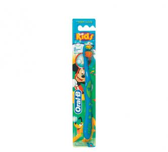Зубная щетка  kids, цвет: голубой Oral-B