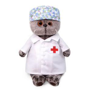 Мягкая игрушка  Басик - доктор 22 см Budi Basa