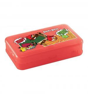 Коробка для мелочей с декором Angry birds, цвет: красный Бытпласт