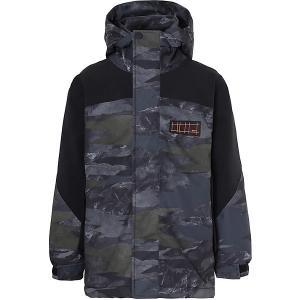 Утеплённая куртка Molo. Цвет: темно-серый