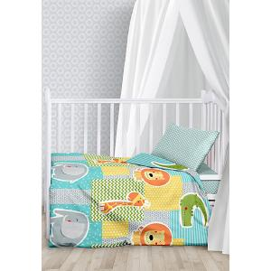 Комплект детского постельного белья  Африка Juno. Цвет: разноцветный