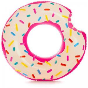 Надувной круг  Пончик, 107 х 99 см Intex
