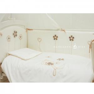 Комплект в кроватку  Bunny 125х65 (6 предметов) Makkaroni Kids
