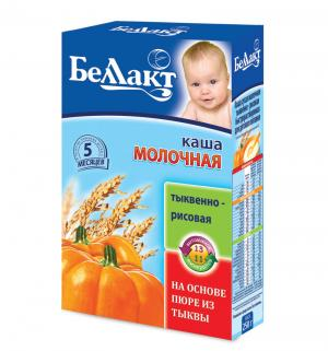 Каша  молочная тыквенно-рисовая с 5 месяцев 250 г 1 шт Беллакт