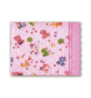 Подстилка  Непромокаемая, 1 шт, цвет: розовый Сказка