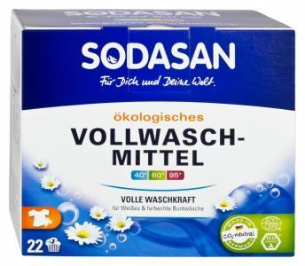 Стиральный порошок-концентрат для отбеливания и удаления стойких загрязнений 1.2 кг Sodasan
