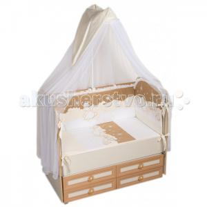 Комплект в кроватку  Ночка (6 предметов) Селена (Сдобина)