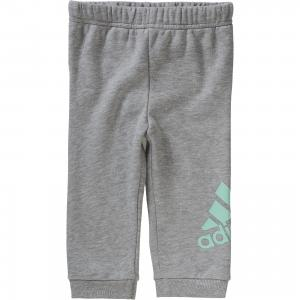 Трикотажные брюки adidas Performance. Цвет: серый