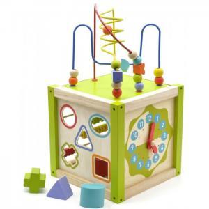 Деревянная игрушка  Универсальный куб Мир деревянных игрушек