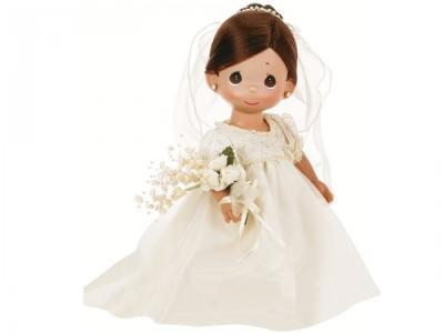Кукла Зачарованные сны. Невеста брюнетка 30 см Precious