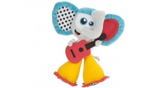 Мягкая игрушка  Развивающая музыкальная Слон Babymoov