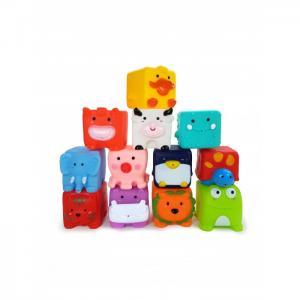 Игрушка для ванной Забавные Кубики 12 шт. ЯиГрушка