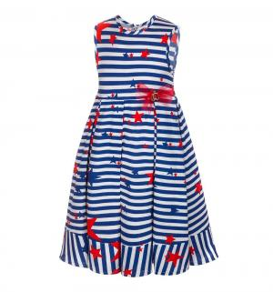 Платье , цвет: синий/белый M&D
