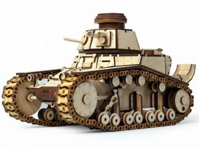 Танк МС-1 (574 детали) Lemmo