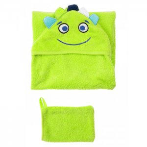 Набор детский текстильный для мальчиков (полотенце, варежка) Playtoday