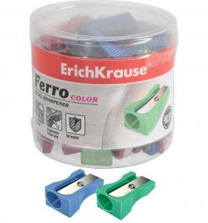 Точилка  алюмин. Ferro color без контейнера Erich Krause